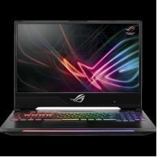 Ноутбук Asus GL504GS-ES092T i7-8750H (2.2)/16G/512G SSD/15.6''FHD AG IPS/NV GTX1070 8G/noODD/BT/Win10 Gunmatel + мышь 90NR00L1-M02390