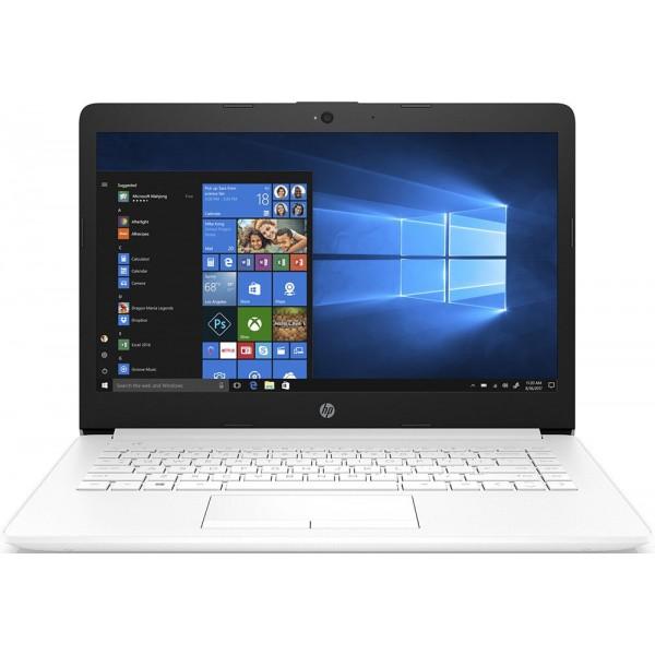 Ноутбук HP 14-cm0014ur Ryzen 5 2500U/8Gb/1Tb/SSD128Gb/ AMD Radeon Vega 8/14''/SVA/HD (1366x768)/Windows 10 64/white/WiFi/BT/Cam 4JU85EA