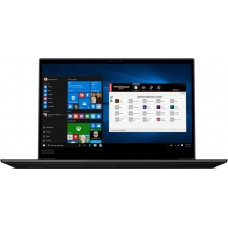 Ноутбук Lenovo ThinkPad P1 Core i5 8400H/8Gb/SSD256Gb/nVidia Quadro P1000 4Gb/15.6''/IPS/FHD (1920x1080)/Windows 10 Professional/black/WiFi/BT/Cam 20MD003VRT