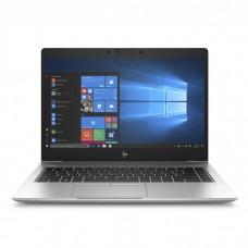 Ноутбук HP EliteBook 840 G6 14''(1920x1080)/Intel Core i5 8265U(1.6Ghz)/8192Mb/512SSDGb/noDVD/Int:Intel HD Graphics 620/50WHr/war 3y/1.48kg/silver/W10Pro + IR Cam, 400 nit