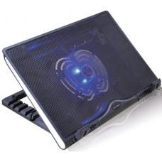 Подставка для ноутбука Crown cmls-925 (black) 12''-15.6''. 1*fan.blue light.2*usb CMLS-925