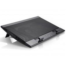 Подставка для ноутбука Deepcool wind pal 17'' 382x262x24mm 22-27db 4xusb 793g fan-control black WINDPAL