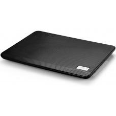 Подставка для ноутбука Deepcool n17 black 14'' 330x250x25mm 21db 1xusb N17BLACK