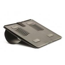 Подставка Fellowes для ноутбука go riser. для мониторов до 17''. толщина 8 мм. черная FS-8030402