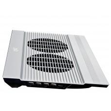 Подставка для ноутбука Deepcool n8 17'' 380x278x55mm 25db 4xusb 1244g silver aluminum N8