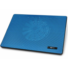 Подставка для ноутбука Stm laptop cooling ip5 blue (15.6''. 1x(160x160). 2xusb. 4 led backlight. black plastic+metal mech) IP5Blue