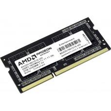 Оперативная память SO-DIMM DDR3 02GB (1x02) AMD R532G1601S1S-U [2 Гб. DDR-3. 12800 Мб/с. CL11-11-11-28. 1.5 В]