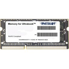 Модуль памяти Patriot SO-DIMM DDR3 4GB PSD34G1600L81S (PC3-12800, 1600MHz, 1.35V)