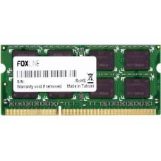 Foxline DDR3L SO-DIMM 1600MHz PC3-12800 CL11 - 2Gb FL1600D3S11SL-2G