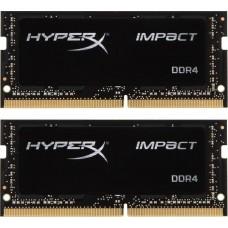 HyperX Impact DDR4 SODIMM 3200MHz PC4-25600 CL20 - 32Gb KIT (2x16Gb) HX432S20IBK2/32