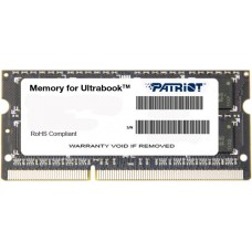 Patriot Memory DDR3L SO-DIMM 1600MHz PC3-12800 - 8Gb PSD38G1600L2S