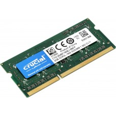 Модуль памяти Crucial SO-DIMM DDR3L 4Gb 1600MHz  CT51264BF160B(J) RTL PC3-12800 CL11  204-pin 1.35В