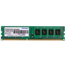 Patriot Memory DDR3 DIMM 1333MHz PC3-10600 - 2Gb PSD32G13332
