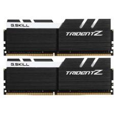 Модуль памяти G.SKILL DIMM DDR4 16GB TRIDENT Z (2x8GB kit) 3600MHz CL16 PC4-28800 1.35V / F4-3600C16D-16GTZKW / Black-White