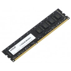 Модуль памяти AMD Radeon™ DIMM DDR3 2GB 1600 R5 Entertainment Series Black R532G1601U1S-U Non-ECC, CL11, 1.5V, RTL