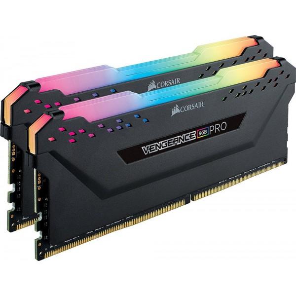 Corsair Vengeance RGB Pro DDR4 DIMM 3200MHz PC4-25600 CL16 - 16Gb KIT (2x8Gb) CMW16GX4M2C3200C16