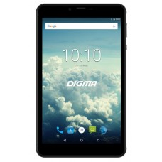 Планшет Digma Plane 7563N 4G MTK8735V (1.0) 4C/RAM1Gb/ROM16Gb 7'' IPS 1280x800/3G/4G/Android 7.0/черный/2Mpix/0.3Mpix/BT/GPS/WiFi/Touch/microSD 64Gb
