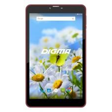 Планшет Digma Plane 7539E 4G MT8735M (1.0) 4C/RAM1Gb/ROM16Gb 7'' IPS 1024x600/3G/4G/Android 7.0/белый/фиолетовый PS7155ML4G