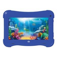 Планшет Digma Optima Kids 7 RK3126C (1.2) 4C/RAM1Gb/ROM16Gb 7'' IPS 1024x600/Android 8.1/голубой TS7203RW