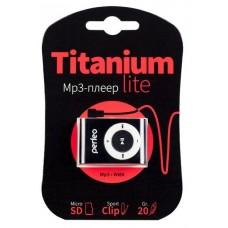 Плеер Perfeo Titanium Lite черный (PF-A4188) PF_A4188