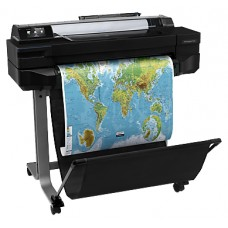 Плоттер HP Designjet T520 ePrinter (24''.4color.2400x1200dpi.1Gb.35spp(A1).USB/LAN/Wi-Fi.stand.mediabin.rollfeed.sheetfeed.tray50(A3/A4). autocutter CQ890C