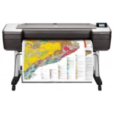 Принтер HP DesignJet T1700dr PS (44''.2400x1200dpi. 26spp(A1). 128Gb(virtual). HDD500Gb. host USB type-A/GigEth.stand.sheet feed.2 rollfeed.autocutter 1VD88A