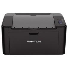 Принтер Pantum P2500, лазерный А4, 22 стр/мин, 1200x1200 dpi, 128 Мб, подача: 150 лист., USB, картридер, черный корпус (Старт.к-ж P-210E - 700 стр., max 15000 стр/мес)