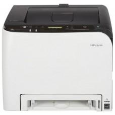 Принтер Ricoh SP C261DNw A4. Сетевой (+ WiFi. WiFidirect. NFC) PSL. PostScript цветной. дуплексом. 20 стр/мин. память 256 Мб.  30000 стр 408236