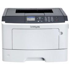 Принтер лазерный Lexmark ms415dn белый. a4. монохромный. ч.б. 38 стр/мин. печать 1200x1200. лоток 250+50 листов. usb. двусторонний 35S0280