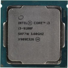 Intel Core i3-9100F Coffee Lake (3600MHz/LGA1151 v2 /L3 6144Kb) OEM CM8068403377321