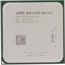 Процессор AMD A4-5300 OEM [Socket FM2. 2-ядерный. 3400 МГц. Turbo: 3600 МГц. Richland. Кэш L2 - 1 Мб. Radeon HD 7480D. 32 нм. 65 Вт ]