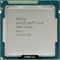 Процессор CPU Intel Core i3-3220 Ivy Bridge OEM {3.3ГГц, 2х256КБ+3МБ, Socket1155}