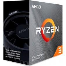 Процессор RYZEN 3 3100  65W, 4C/8T, 3.9Gh(Max), 18MB(L2+L3), AM4, BOX