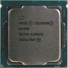 Процессор INTEL CELERON G4930 OEM [Socket 1151 v2. 2-ядерный. 3200 МГц. Coffee Lake-S. Кэш L2 - 0.5 Мб. Кэш L3 - 2 Мб. Intel UHD Graphics 610. 14 нм. 54 Вт]