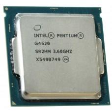 Процессор Intel pentium dual-core g4520 soc-1151 (cm8066201927407s r2hm) (3.6ghz/hd (skylake)) oem CM8066201927407S R2HM