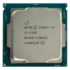 Процессор CPU Intel Socket 1151 Core I3-7320 (4.10Ghz/4Mb) tray