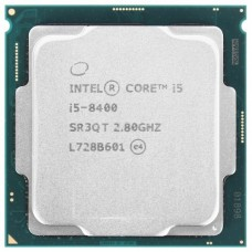 Процессор Intel CPU Desktop Core i5-8400 2.8GHz, 9MB, LGA1151 tray