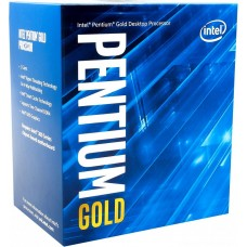 Процессор Intel Pentium Gold G5400 Soc-1151v2 (BX80684G5400 S R3X9) (3.7GHz/Intel UHD Graphics 610) Box BX80684G5400SR3X9