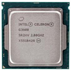 Процессор CPU Intel Socket 1151 Celeron G3900 (2.8Ghz/2Mb) tray