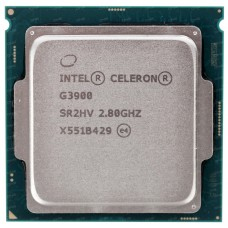 Процессор Intel celeron g3900 soc-1151 cm8066201928610s r2hv oem CM8066201928610SR2HV