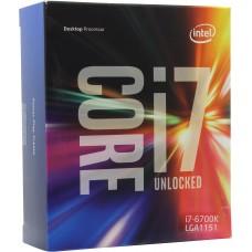 Процессор Intel core i7 6700k soc-1151 box. без кулера BX80662I76700KSR2L0