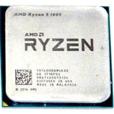 Процессор AMD Ryzen 5 1400 AM4 OEM (YD1400BBM4KAE) YD1400BBM4KAE