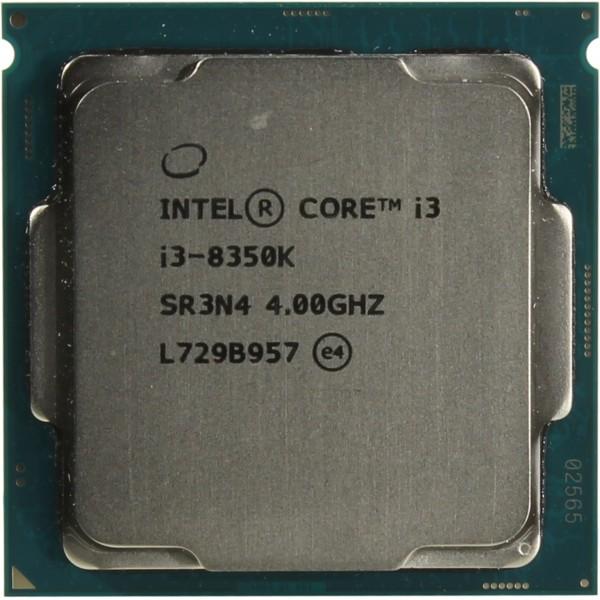 Процессор Intel Core i3 8350K Soc-1151v2 (4GHz/Int UHD Graphics 630) OEM CM8068403376809SR3N4