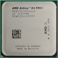 Процессор AMD ATHLON X4 840 [Socket FM2+. 4-ядерный. 3100 МГц. Turbo: 3800 МГц. Kaveri. Кэш L2 - 4 Мб. 28 нм. 65 Вт]