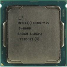 Процессор Intel Core i5 8600 Soc-1151v2 (CM8068403358607S R3X0) (3.1GHz/Intel HD Graphics 630) OEM CM8068403358607SR3X0