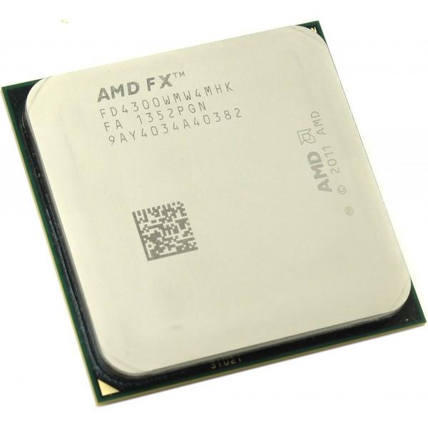 AMD FX-4300 Vishera (3800MHz/AM3+/L3 4096Kb) FD4300WMW4MHK OEM FD4300WMW4MHK