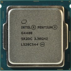 Процессор Intel Original Pentium Dual-Core G4400 Soc-1151 (CM8066201927306S R2DC) (3.3GHz/Intel HD Graphics 510) OEM