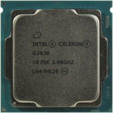 Процессор INTEL CELERON G3930 OEM [Socket 1151. 2-ядерный. 2900 МГц. Kaby Lake-S. Кэш L2 - 0.5 Мб. Кэш L3 - 2 Мб. Intel HD Graphics 610. 14 нм. 51 Вт]