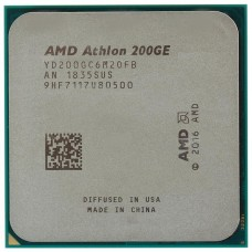AMD Athlon 200GE (3200MHz/AM4/L2+L3 5120Kb) YD200GC6M2OFB OEM YD200GC6M2OFB