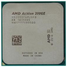 AMD Athlon 200GE (3200MHz/AM4/L2+L3 5120Kb) YD200GC6M2OFB OEM